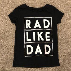 Rad like dad t shirt